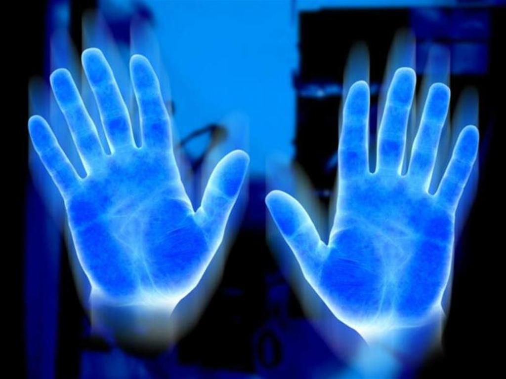 blue electric hand - flow with jo