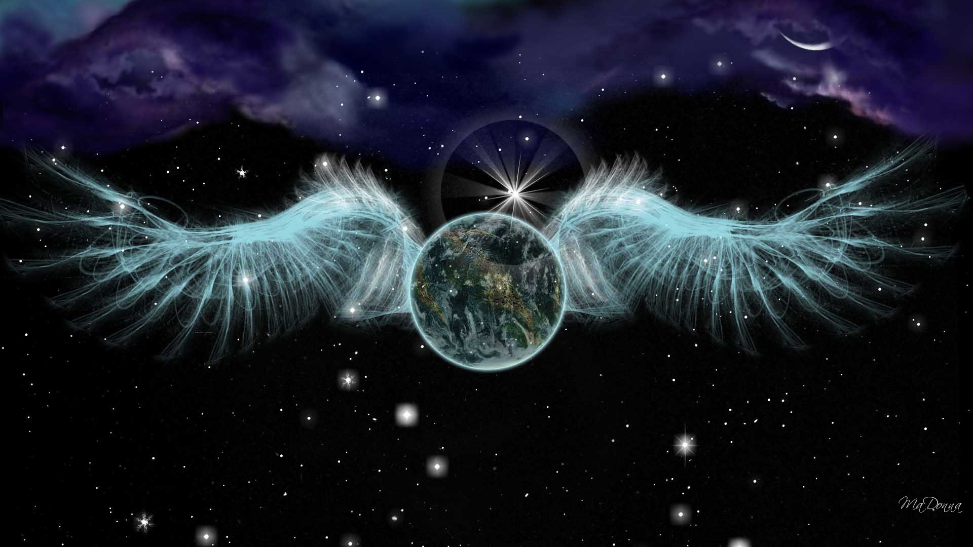 angel on earth Who are the angels, and why their presence on earth is so important to all humankind.