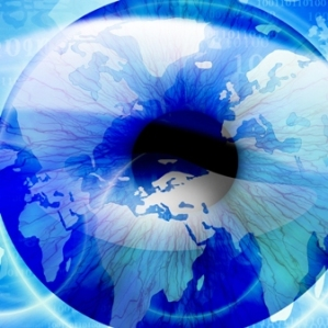 world in an eye