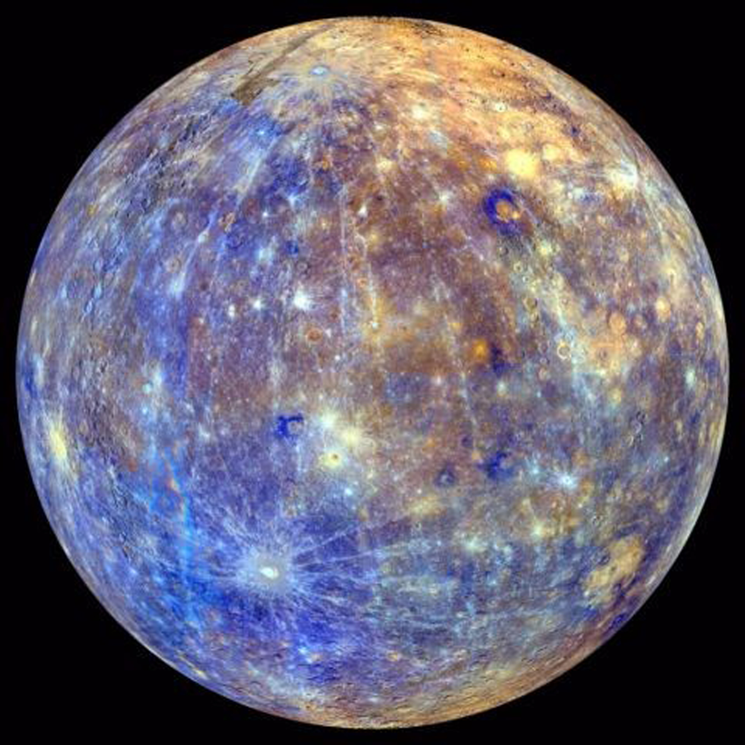 what are the moons of mercury - photo #24